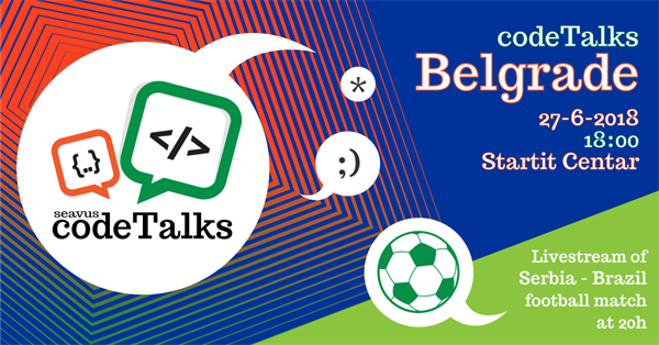 Third Seavus CodeTalks in Belgrade 27.06.2018