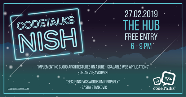 Seavus CodeTalks in Nish 27.02.2019